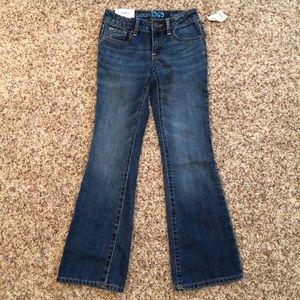 GAP Kids bootcut jeans, size 7, NWT